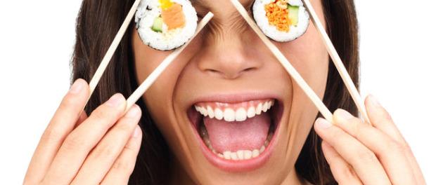 Kako se jede suši