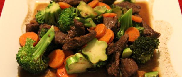Barena junetina sa barenim povrćem