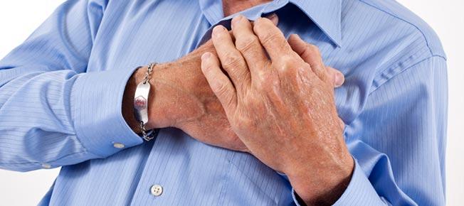 Bol u grudima - simptomi i lecenje