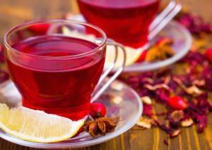 caj od hibiskusa - lekovita svojstva i recept
