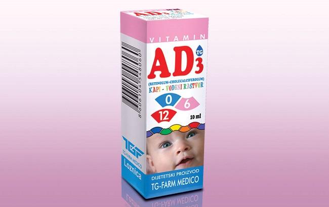 AD kapi za bebe i kosu