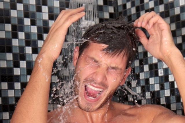 Tuširanje hladnom vodom posle treninga