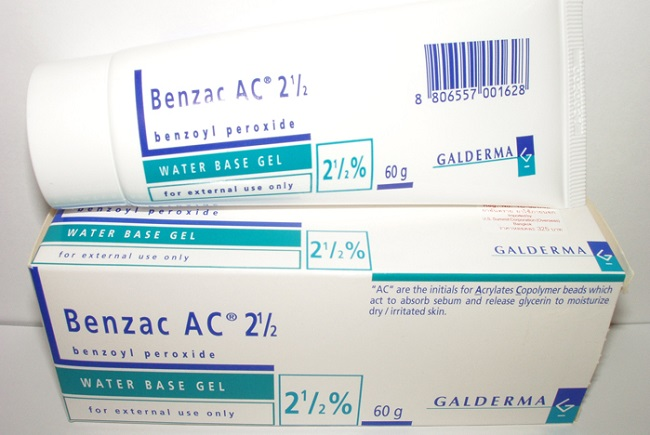 Benzoil peroksid gel za akne