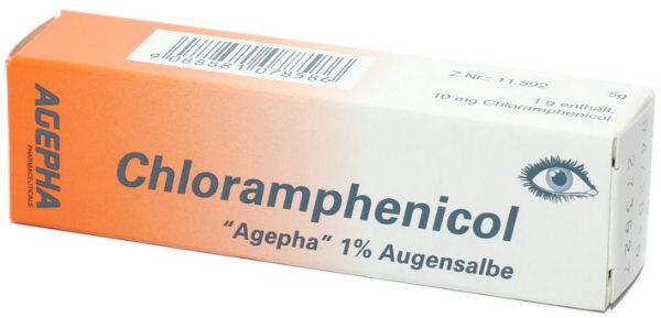 Hloramfenikol mast za oči