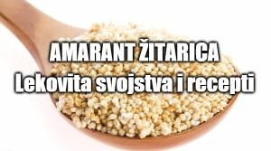 Amarant žitarica - lekovita svojstva i recept