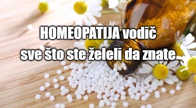 Homeopatija vodic