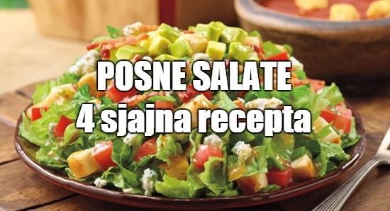 Posne salate – recepti